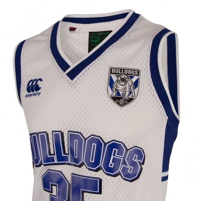 2016 Bulldogs Basketball Singlet Big & Tall