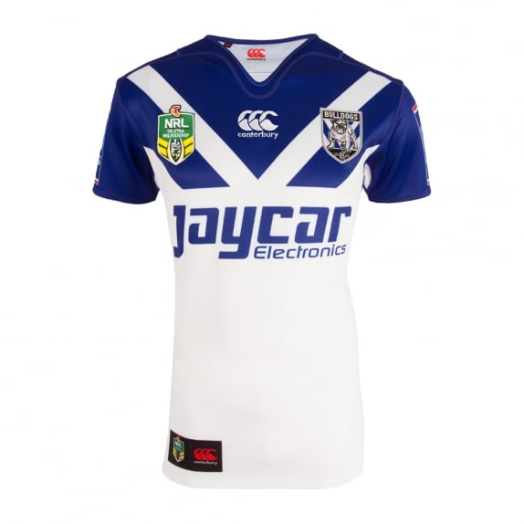 2016 Bulldogs Replica Home Jersey