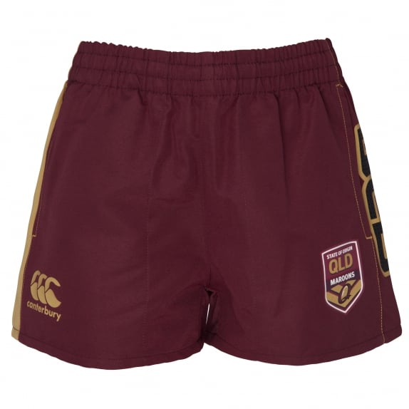 2016 QLD SOO Kids Perforated Short