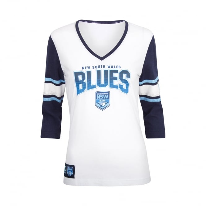 NSW BLUES 3/4 THE BLUES TEE 2018 - WOMENS