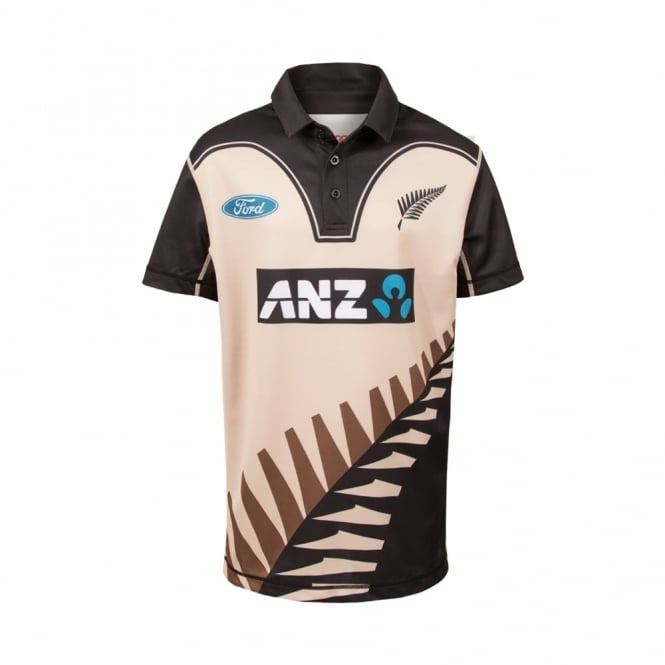 BLACK CAPS REPLICA T20 SHIRT 2017 - JUNIORS