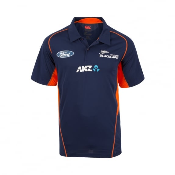 BLACKCAPS REPLICA TRAINING POLO 2017
