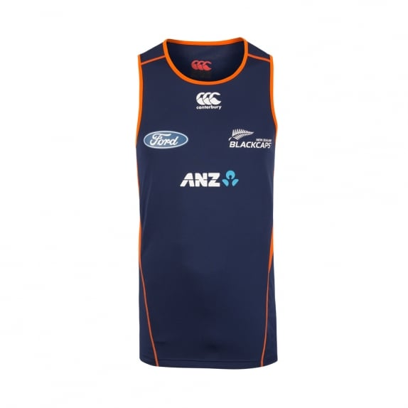 BLACKCAPS REPLICA TRAINING SINGLET 2017