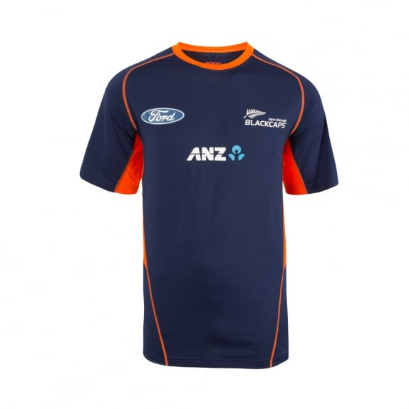 BLACKCAPS REPLICA TRAINING TEE 2017