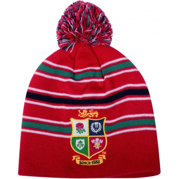 BRITISH & IRISH LIONS ACRYLIC BOBBLE HAT