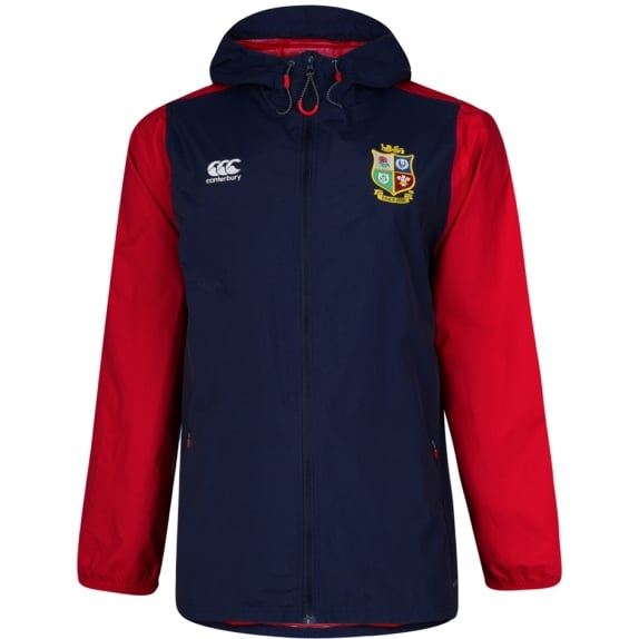 BRITISH & IRISH LIONS SHOWERPROOF JACKET