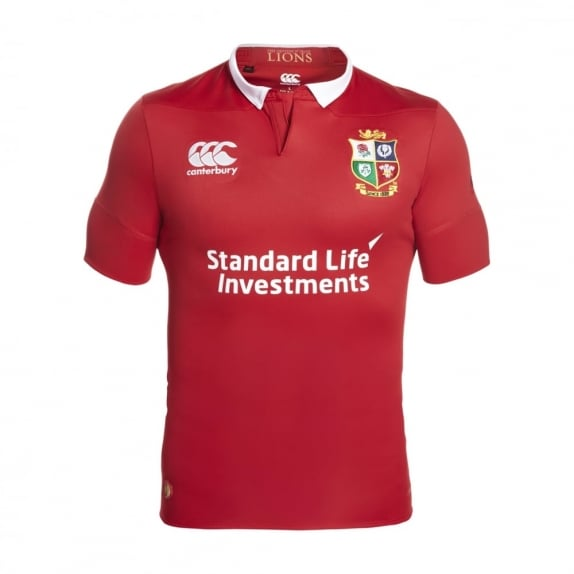BRITISH & IRISH LIONS VAPOSHIELD MATCH DAY TEST JERSEY