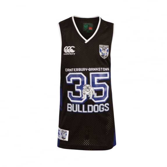 BULLDOGS BASKETBALL SINGLET 2017 - JUNIORS