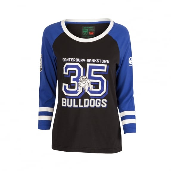 BULLDOGS LIFESTYLE TEE 2017 - WOMENS