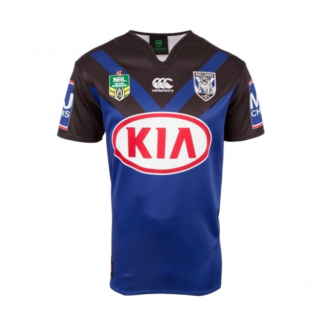 BULLDOGS REPLICA AWAY JERSEY 2017 - Mens from Canterbury Australia dc2babbf0047