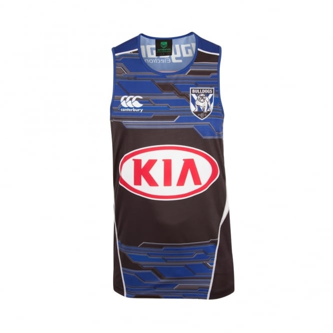BULLDOGS TRAINING SINGLET 2017