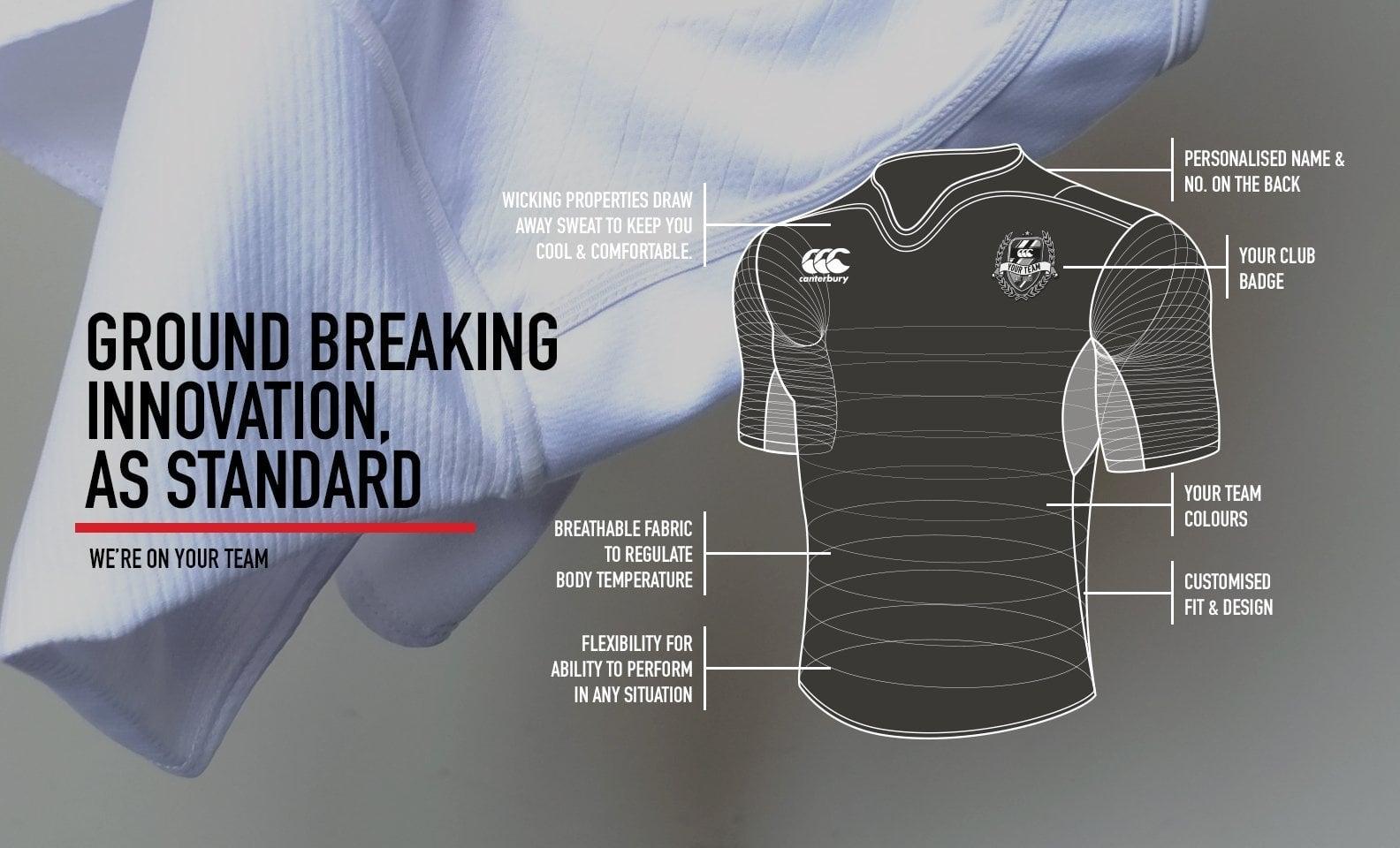 Sports & Training Teamwear - Canterbury Australia