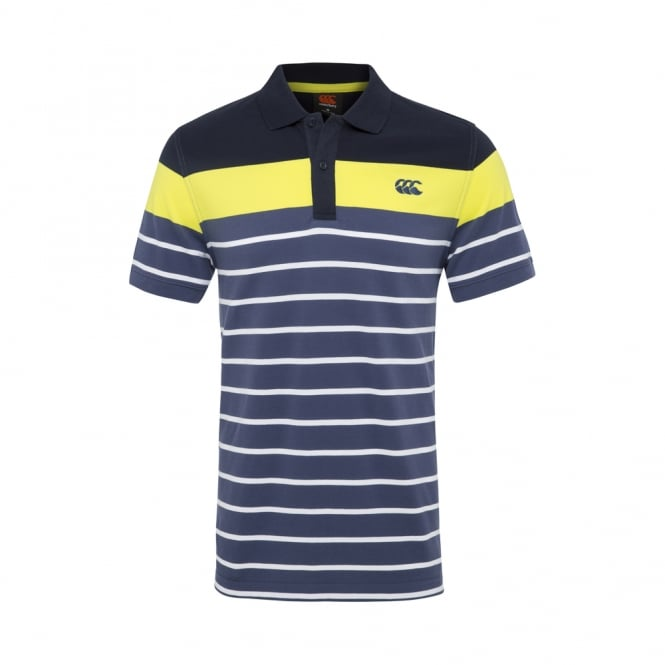 CONTRAST ENGINEER STRIPE POLO