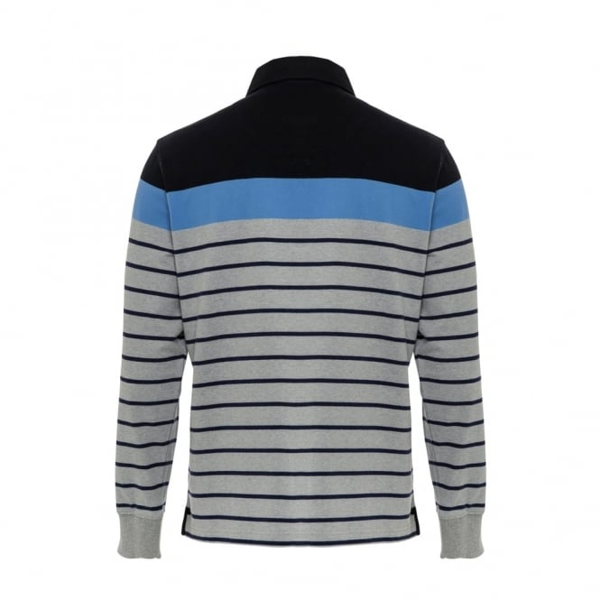 CONTRAST STRIPE RUGBY