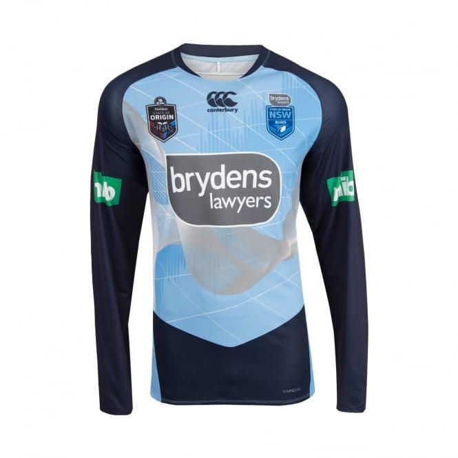 fa4cf3a1c NSW BLUES ELITE LS TRAINING TEE 2018 - Mens from Canterbury Australia