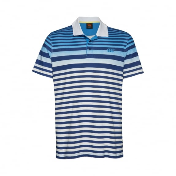FADE-DOWN STRIPE POLO