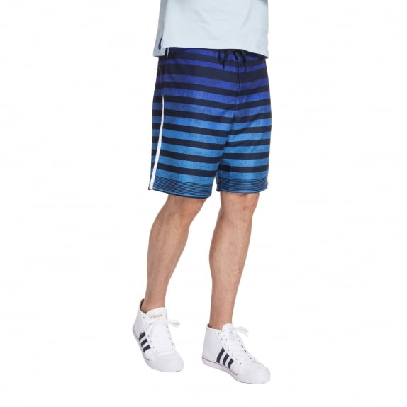 FADE-DOWN STRIPE SHORT