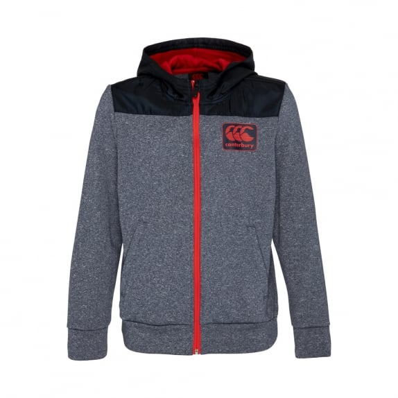 FLEECE ZIP THRU HOODIE - JUNIORS