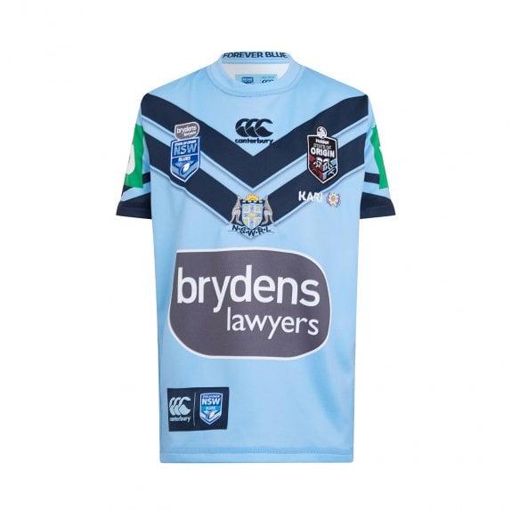 90c0e3583e5 HOME PRO JERSEY 2019 - JUNIORS Free Cap · NSW BLUES ...