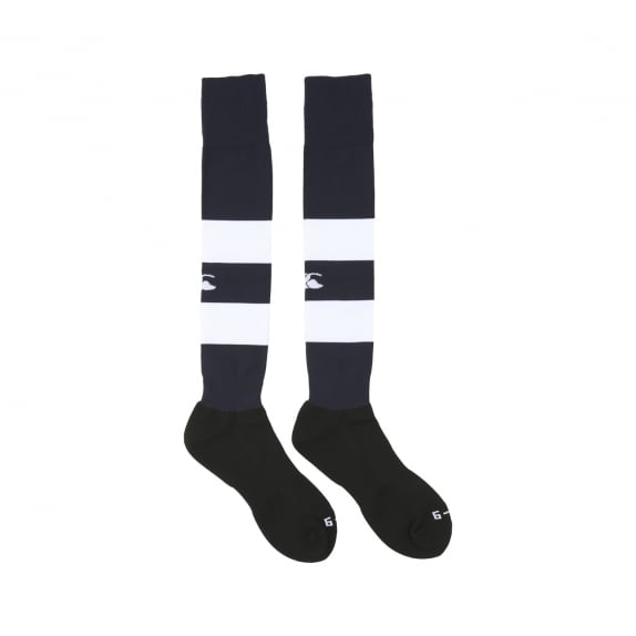 HOOPED PLAYING SOCK NAVY