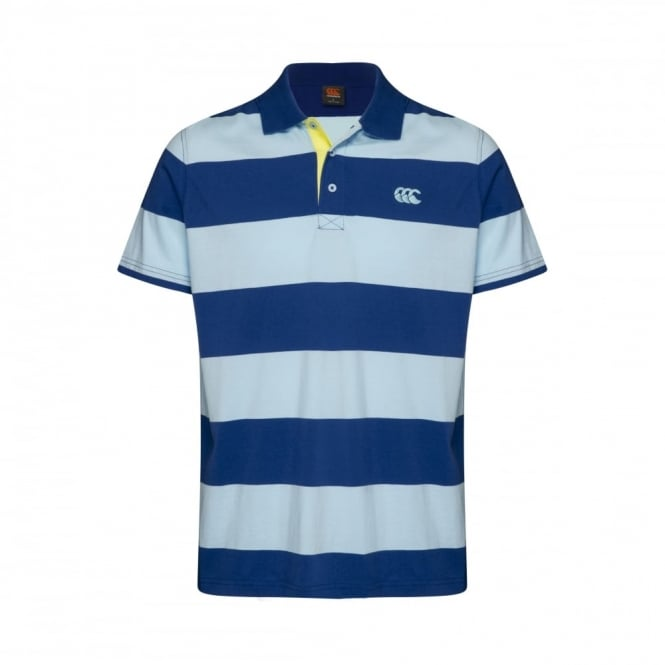 HOOPED YARN DYE POLO