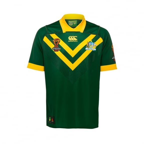 df298bd2712 KANGAROOS LIMITED EDITION TEST JERSEY 2017 - PLAYER FIT