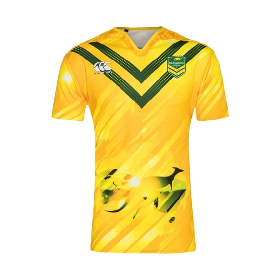 KANGAROOS REP TRAINING JERSEY