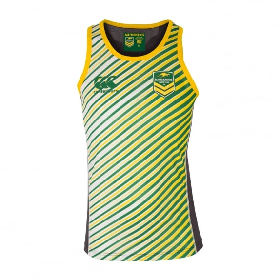 KANGAROOS REP TRAINING SINGLET