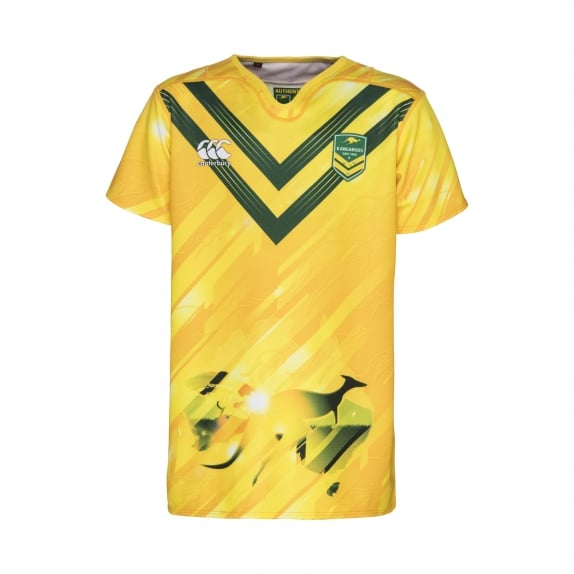 KANGAROOS TRAINING JERSEY 2016 - JUNIORS