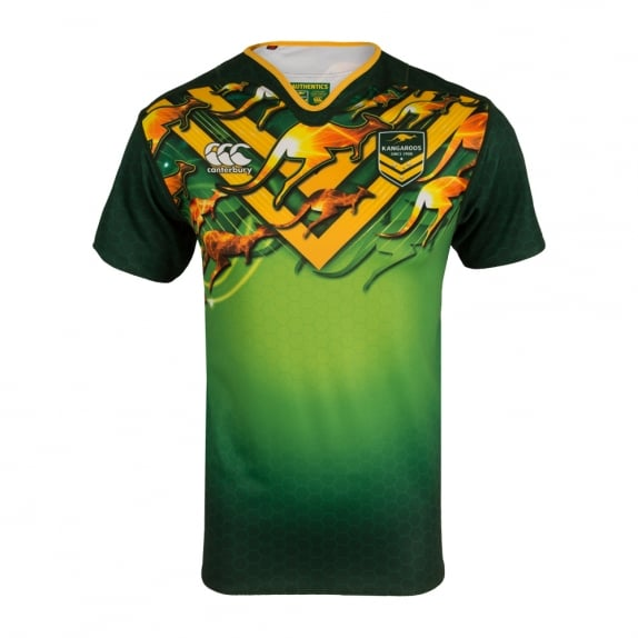 KANGAROOS TRAINING JERSEY 2016