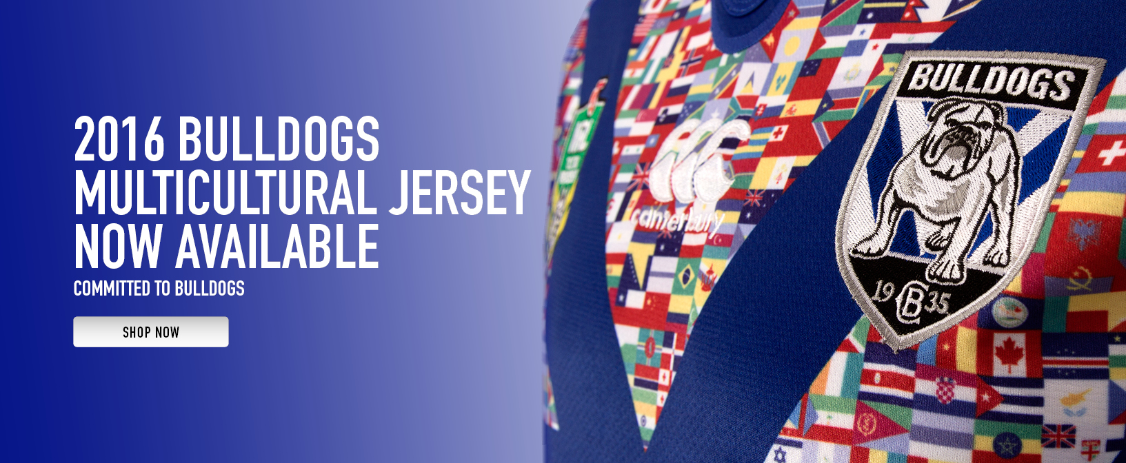 Bulldogs Multicultural Jersey 2016