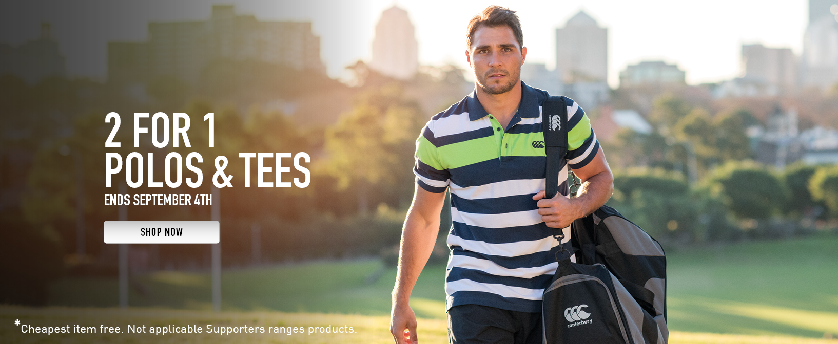 Father's Day Offer - 2 for 1 on Polos & Tees