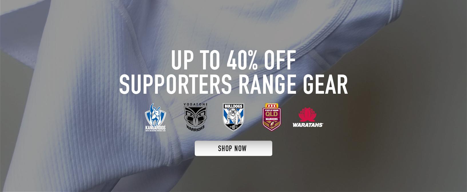 Supporters Range Gear Sale