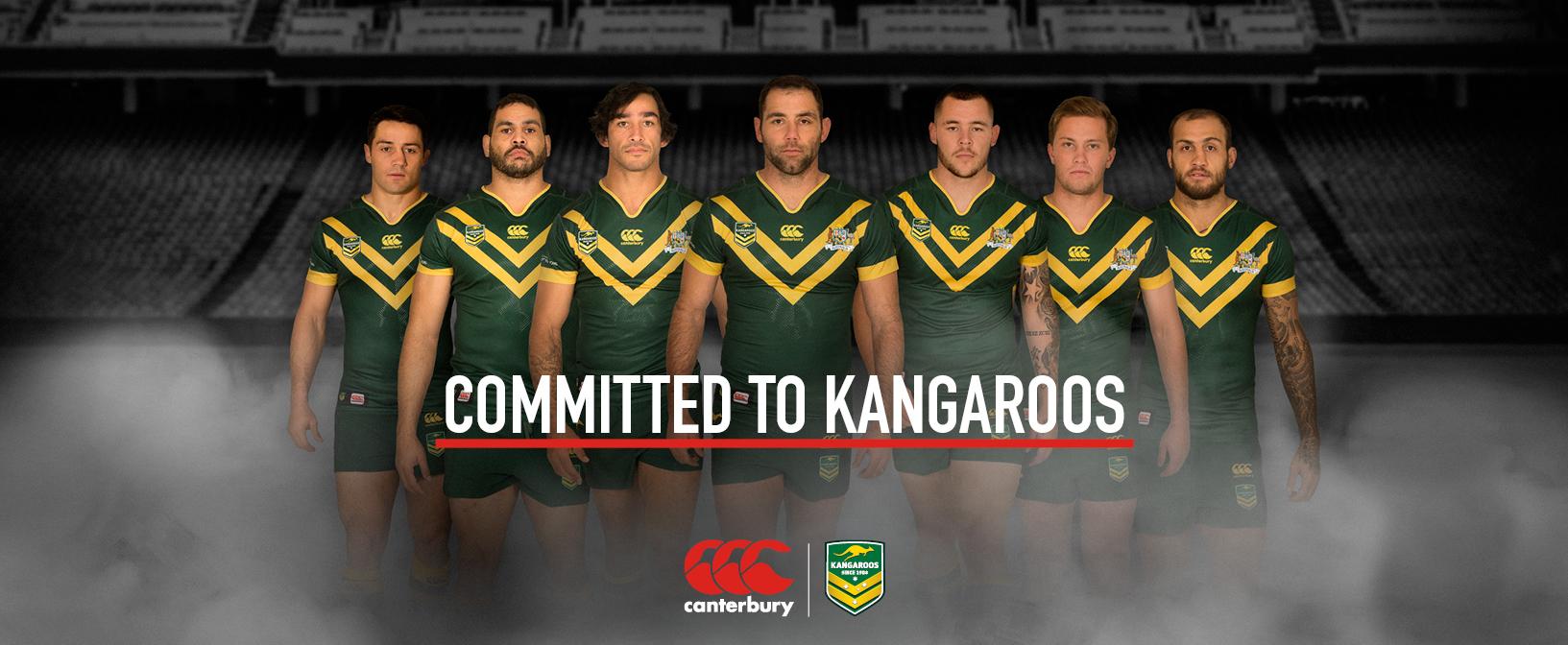 Australian Kangaroos Four Nations Range
