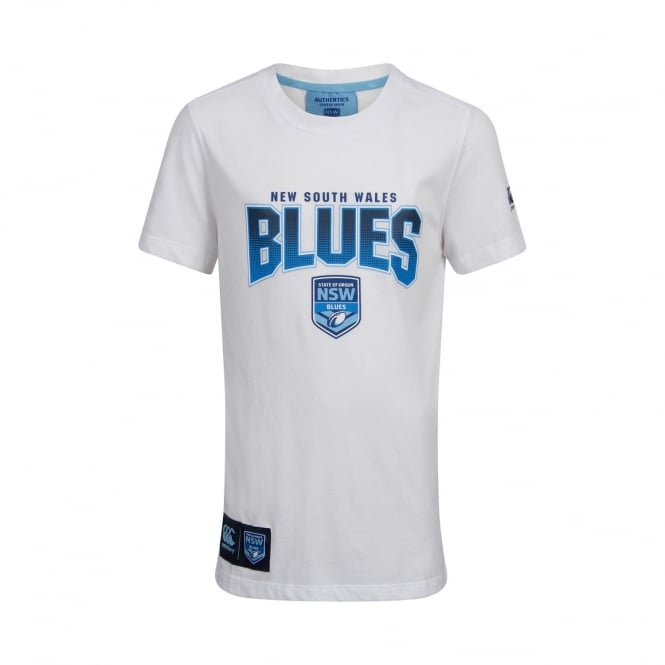NSW BLUES NSW SOO THE BLUES TEE - JUNIORS