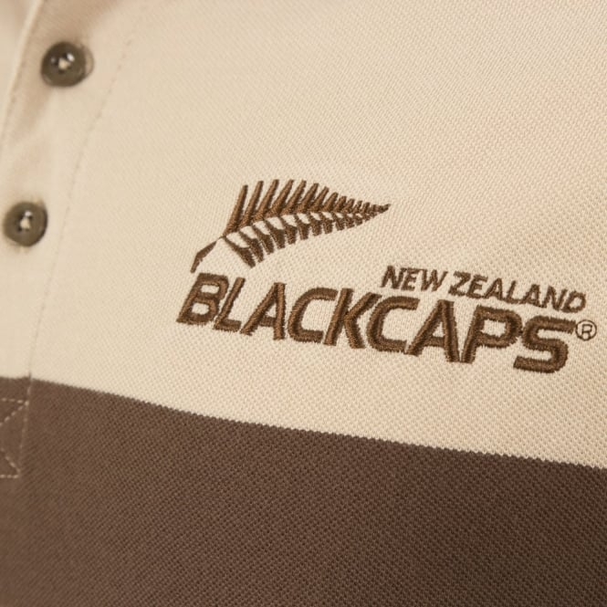 NZ BLACKCAPS RETRO POLO 2017