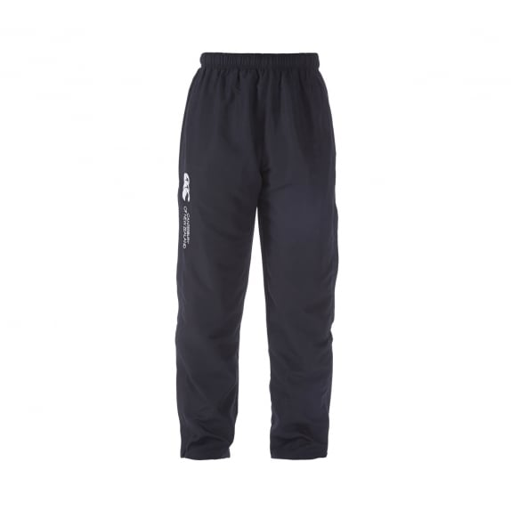 OPEN HEM STADIUM PANT BLACK