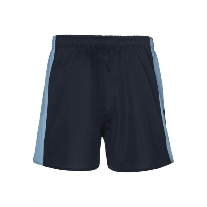 PANELLED POLYESTER SHORT