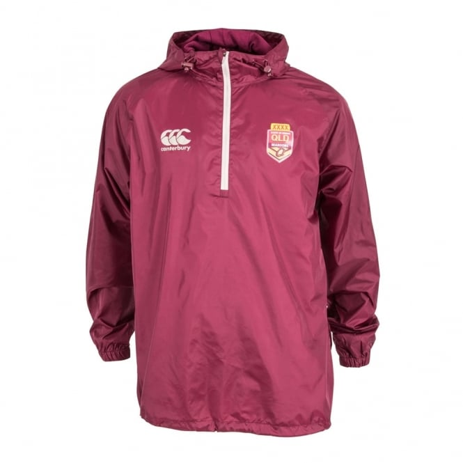 QLD Rep Spray Jacket MAROON