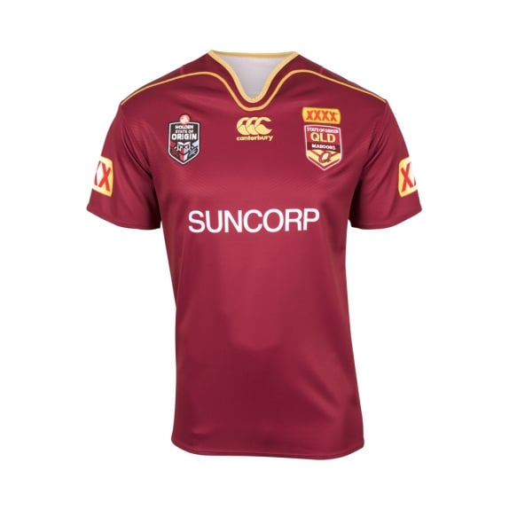 QLD REPLICA ON FIELD JERSEY 2017 - BIG & TALL