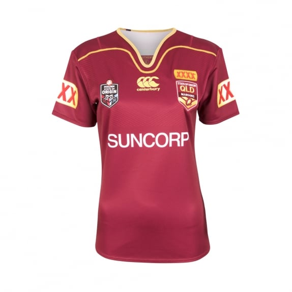 QLD REPLICA ON FIELD JERSEY 2017 - WOMENS