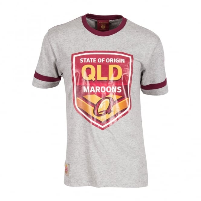 QLD Shield Tee CLASSIC MARLE