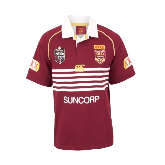 QLD SOO CLASSIC S/S JERSEY 2017