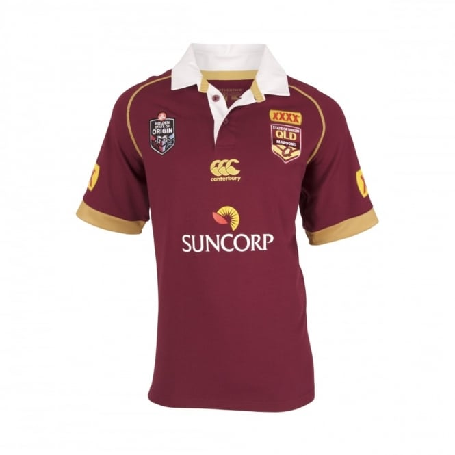 QLD SOO Classic S/S Jersey
