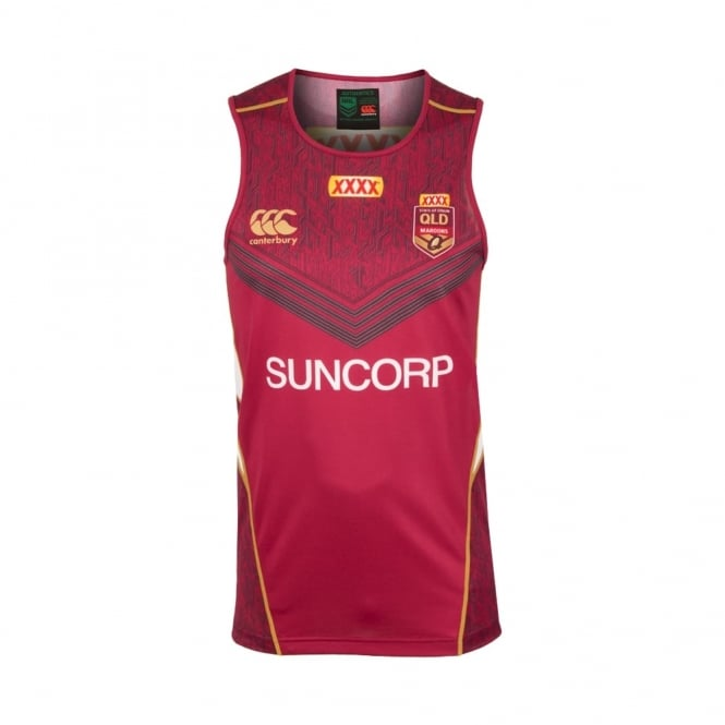 QLD SOO TRAINING SINGLET 2017