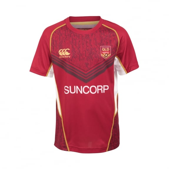 QLD SOO TRAINING TEE 2017 - JUNIORS