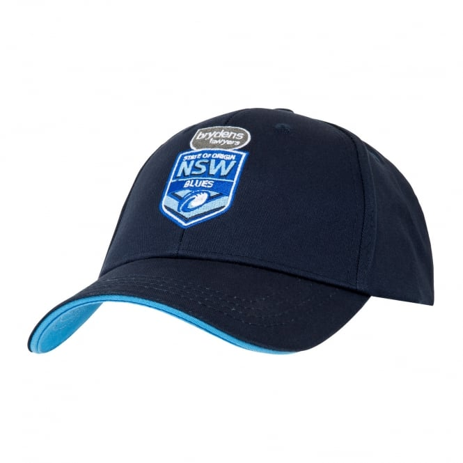 NSW BLUES SUPPORTER CLASSIC DRILL CAP 2018