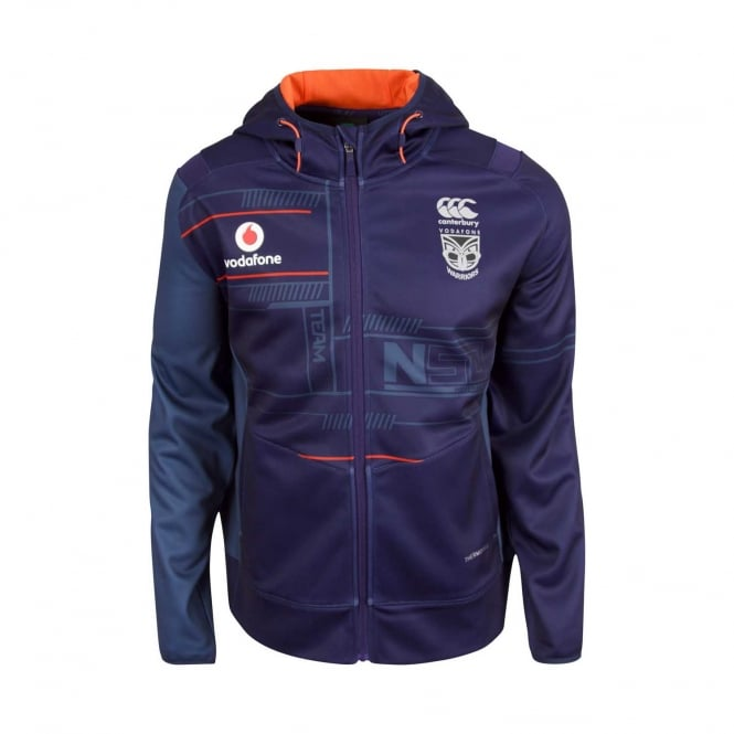 VODAFONE WARRIORS TECH-FLEECE EVO FZ HOODY 2018
