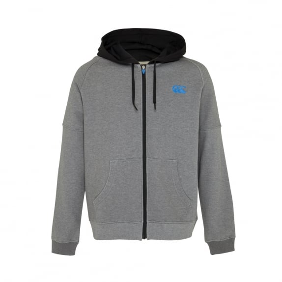 URBAN ZIP THROUGH HOODIE - BIG & TALL