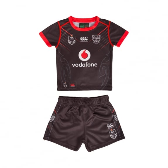 WARRIORS HOME KIT 2017 - INFANT SET